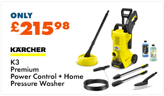Karcher K3 Premium Power Control and Home Pressure Washer