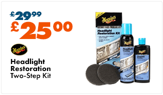 Meguiars Two Step Headlight Restoration Kit