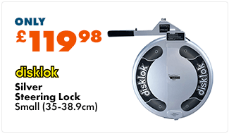 DISKLOK Steering Lock (Silver) Small