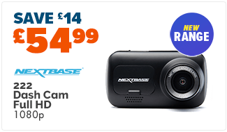 Nextbase 222 Dash Cam (1080p Full HD)