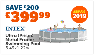 Intex Ultra Metal Frame Swimming Pool (Prism) - 549x122cm