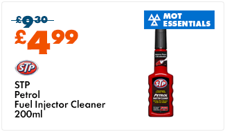 STP Petrol Fuel Injector Cleaner 200ml