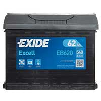 Exide Excel 027 Car Battery - 3 Year GuaranteeExide Excel 027 Car Battery - 3 Year Guarantee