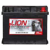 Lion 027 Car Battery - 3 Year GuaranteeLion 027 Car Battery - 3 Year Guarantee