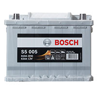 Bosch S5 Car Battery 027 5 Year GuaranteeBosch S5 Car Battery 027 5 Year Guarantee