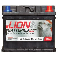 Lion 063 Car Battery - 3 Year GuaranteeLion 063 Car Battery - 3 Year Guarantee