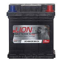 Lion 202 Car Battery - 3 Year GuaranteeLion 202 Car Battery - 3 Year Guarantee