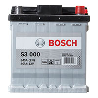 Bosch S3 Car Battery - 202 - 3 Year GuaranteeBosch S3 Car Battery - 202 - 3 Year Guarantee