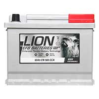 Lion EFB 027 Car Battery - 3 year GuaranteeLion EFB 027 Car Battery - 3 year Guarantee