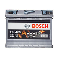 Bosch AGM 027 Car Battery - 3 Year GuaranteeBosch AGM 027 Car Battery - 3 Year Guarantee
