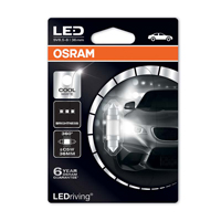 Osram 239 Long Life Led Bulb C5W 12V 6000K  Cool WhiteOsram 239 Long Life Led Bulb C5W 12V 6000K  Cool White