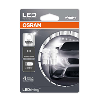 Osram 501 LED Bulb Cool White 6000k Twin PackOsram 501 LED Bulb Cool White 6000k Twin Pack