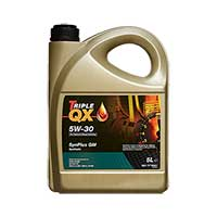 TRIPLE QX Fully Synthetic (For GM applications) Engine Oil - 5W-30 -5ltrTRIPLE QX Fully Synthetic (For GM applications) Engine Oil - 5W-30 -5ltr