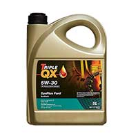 TRIPLE QX Fully Synthetic (For Ford applications) Engine Oil - 5W-30 - 5ltrTRIPLE QX Fully Synthetic (For Ford applications) Engine Oil - 5W-30 - 5ltr