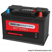 Drivemaster 078 Car Battery - 3 Year GuaranteeDrivemaster 078 Car Battery - 3 Year Guarantee