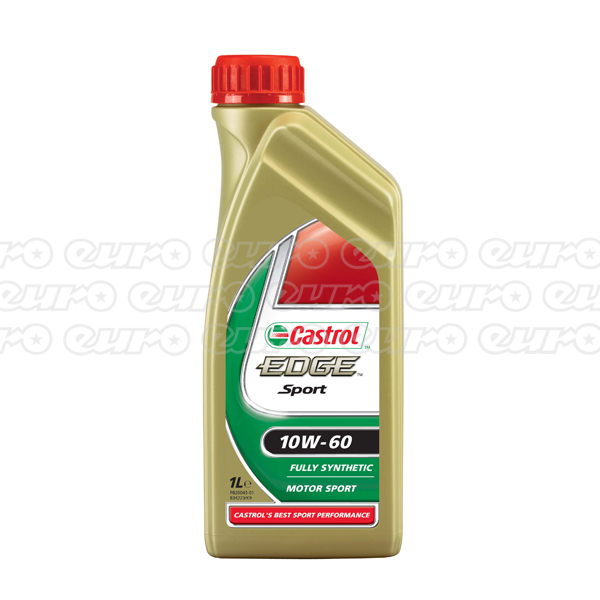 Castrol Edge Sport Fully Synthetic 10W60 Engine Oil (1 Litre)