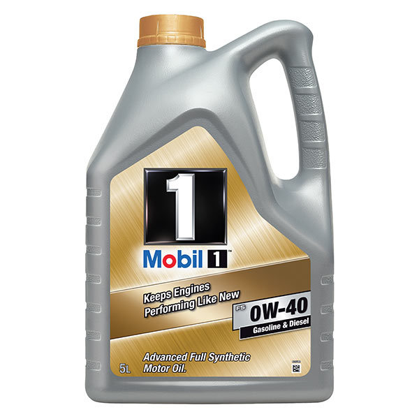 Mobil 1 FS Engine Oil - 0W-40 - 5ltr