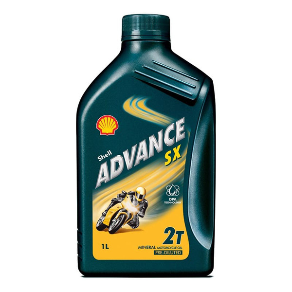 Shell Advance SX2   Motorcycle 2 Stroke - 1Ltr