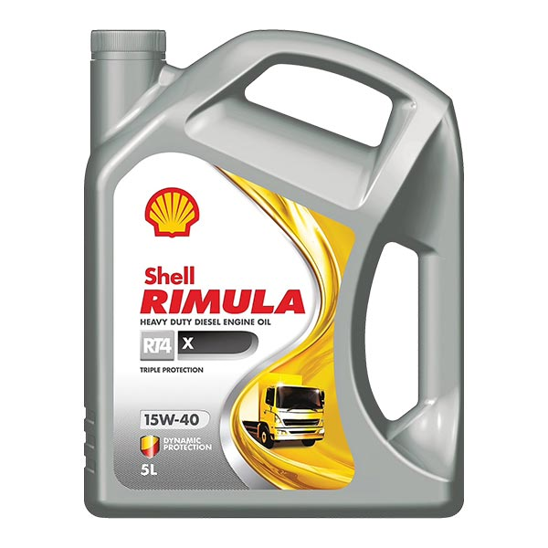 Shell R4 X Engine Oil - 15W-40 - 5Ltr