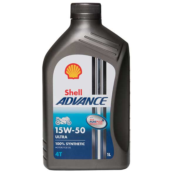 Shell Advance 4T 15W-50 Ultra FS Motorcycle 4 Stroke - 1Ltr