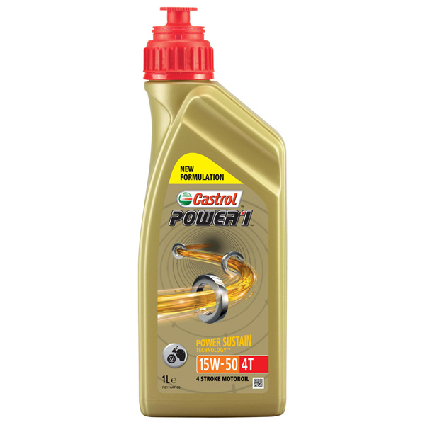 Castrol Power1 5W-50 4T Motorcycle 4 Stroke - 1Ltr