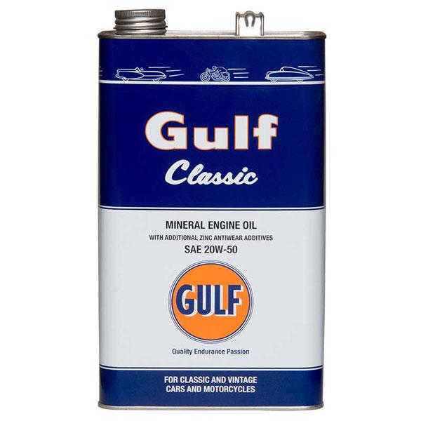 Gulf Classic Engine Oil 20w 50 5ltr