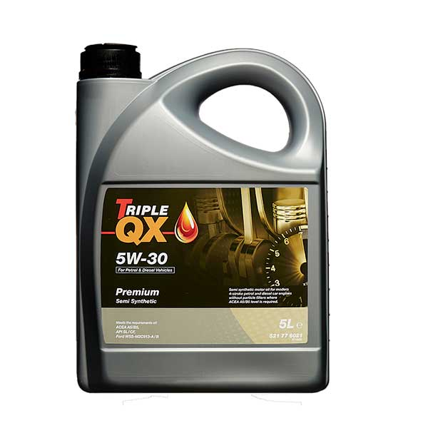 TRIPLE QX Semi Synthetic Engine Oil - 5W-30 - 5ltr