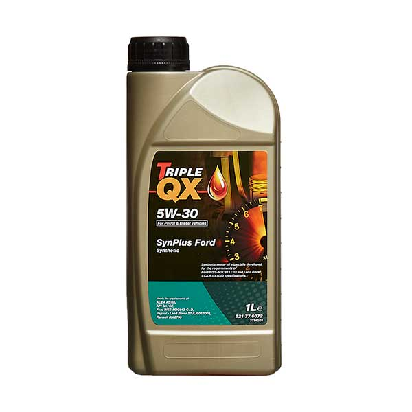 TRIPLE QX Fully Synthetic (For Ford applications) Engine Oil - 5W-30 - 1ltr