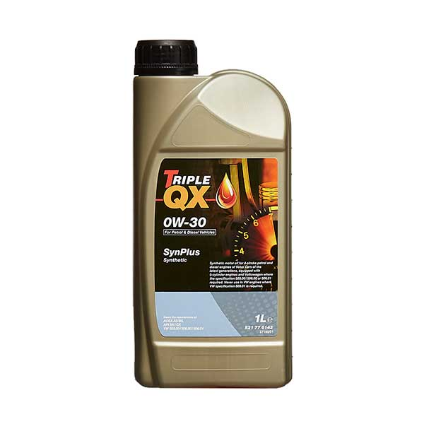 TRIPLE QX Fully Synthetic Engine Oil - 0W-30 - 1ltr