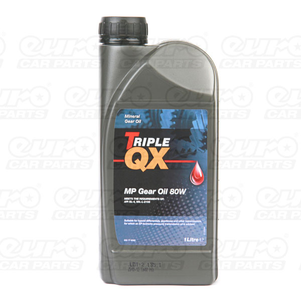 TRIPLE QX MP80w Gear Oil 1 Litre
