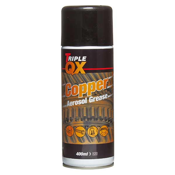 TRIPLE QX Copper Grease 400ml Aerosol Can