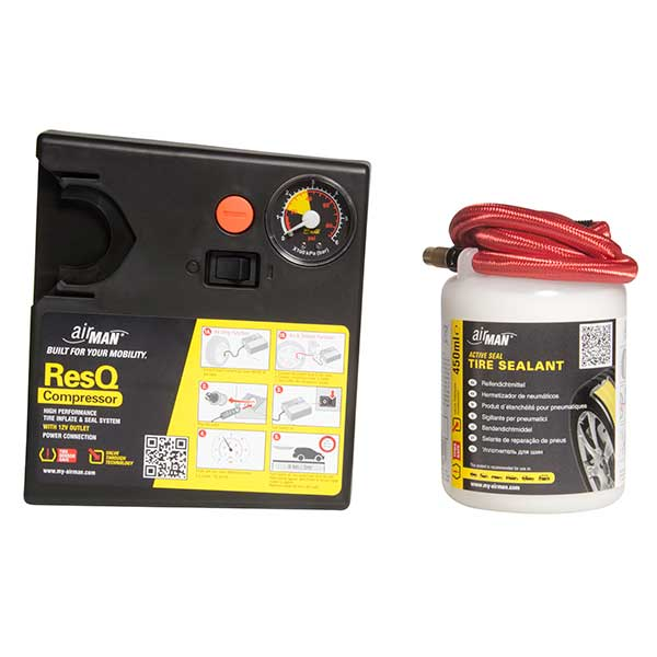 Airman ResQ Emergency Tyre repair Kit including Tyre sealant