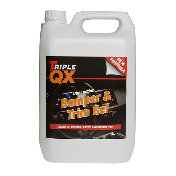 TRIPLE QX Professional Bumper Tyre And Trim 5Ltr