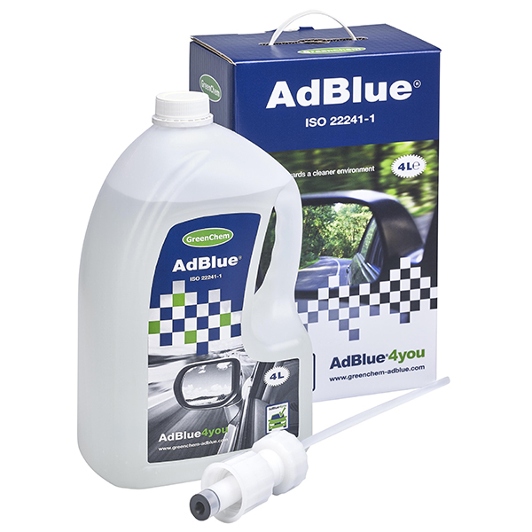 Greenchem Ad Blue Starter Kit With Spout 4Ltr
