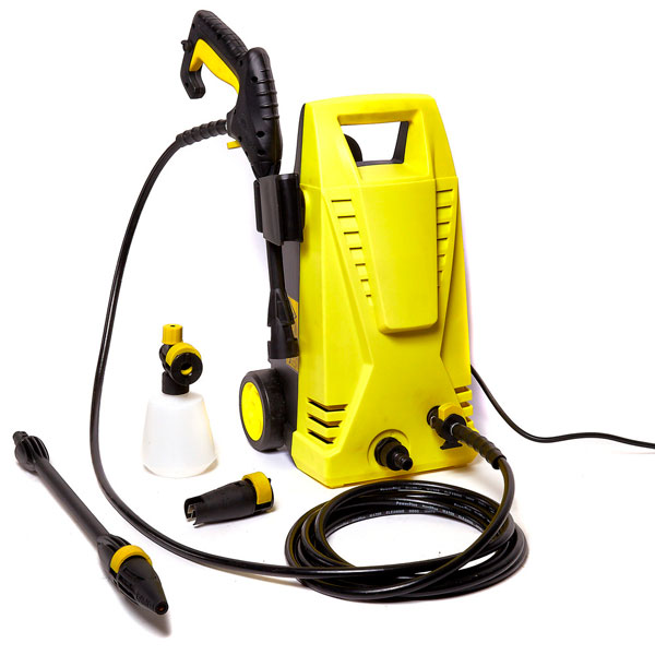 Top Tech HPI1700 Domestic Pressure Washer - 90 bar / 1700 Watt