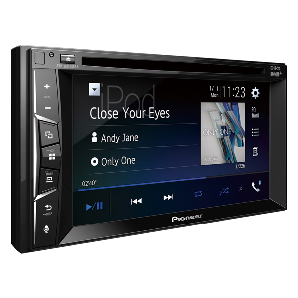 Pioneer AVH-A3100DAB Double Din Head Unit