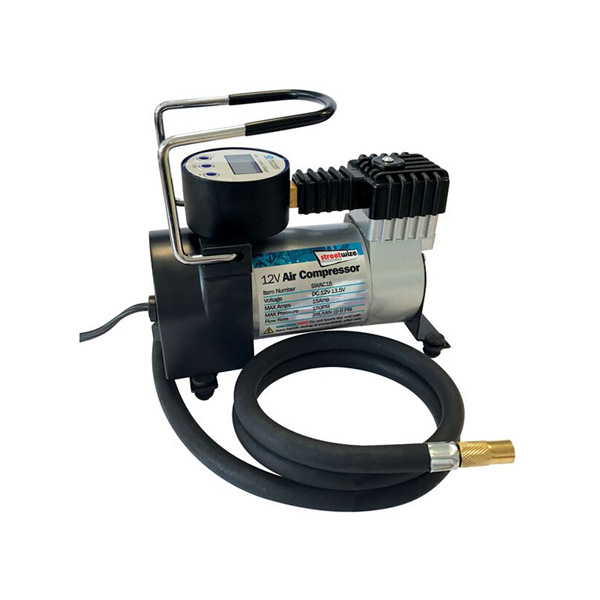 Streetwize 12v AirCompressor with Auto Cut-Off