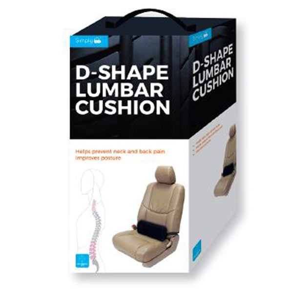 D-Shape Lumbar Cushion