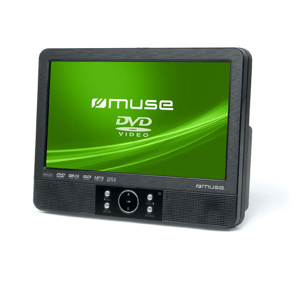 "Muse 9""Tft Lcd Display Car Video Player Dvd."