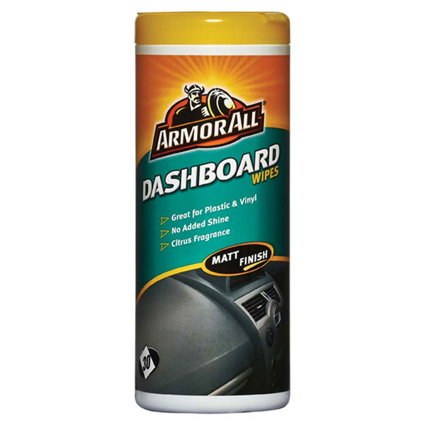 Armorall Dashboard Wipes - Matt