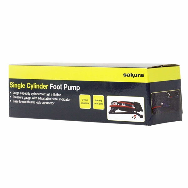 Sakura Single Cylinder Foot Pump