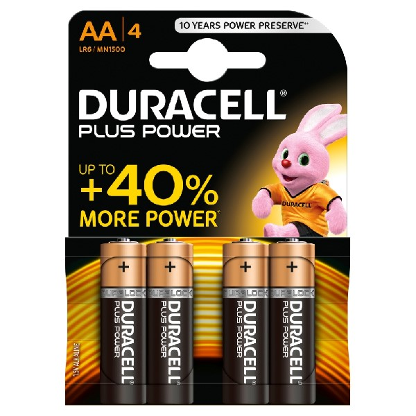 Duracell AA Battery - 4 Pack
