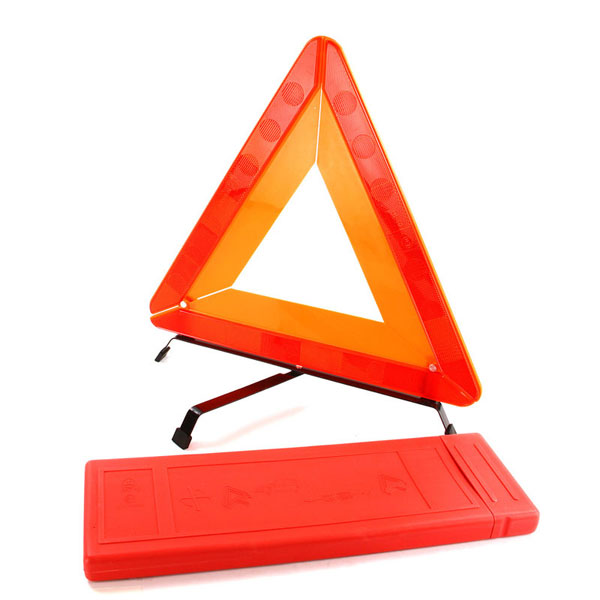 Top Tech Folding Warning Triangle in Case
