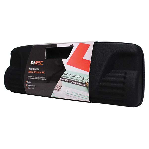 RAC 11 Pieces Car Premium New Drivers Pouch Emergency Safety Breakdown Kit