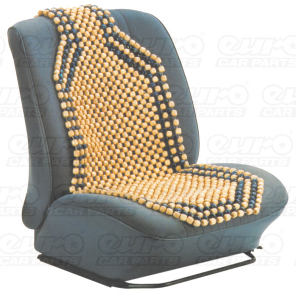 Carpoint Wooden bead seat cover, standard model