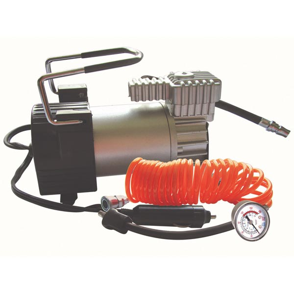 Streetwize Kruga Air Compressor with 5m Hose & Gauge