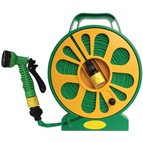 Streetwize Superflat Hose Reel 15m Length
