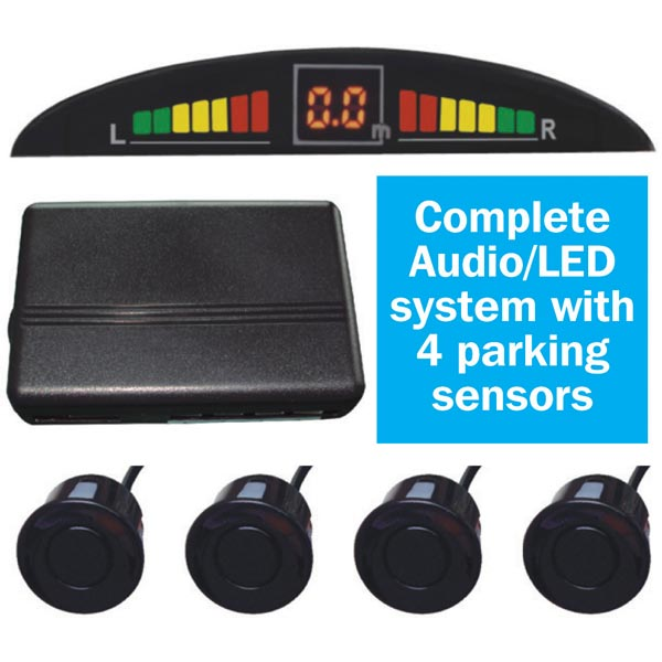 Streetwize Parking Sensor Kit (audio/visual)