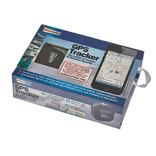 Streetwize Vehicle & Personal GPS Tracker