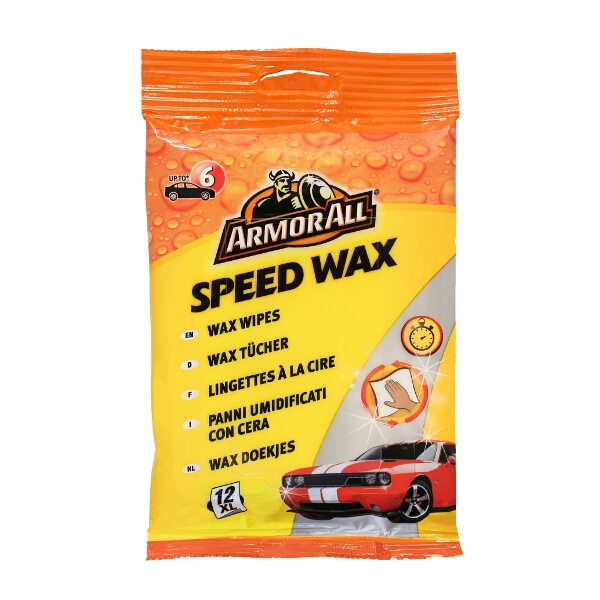 Armorall Armor All Speed Wax Wipes